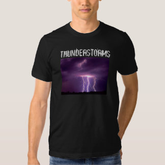 Thunderstorms Tees