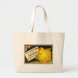 Thurber Pears Vintage Crate Label Tote Bag