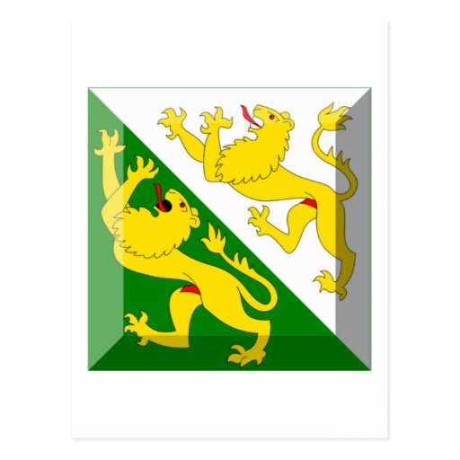 Thurgau Flag Gem Postcard