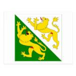 Thurgau Flag Postcard