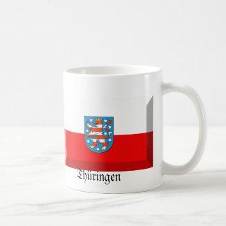 Thuringen Flag Gem Basic White Mug