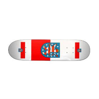 Thuringia national flag custom skateboard
