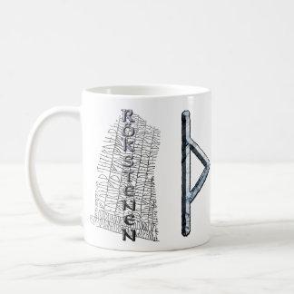 Thurisaz rune mug, Thor's symbol