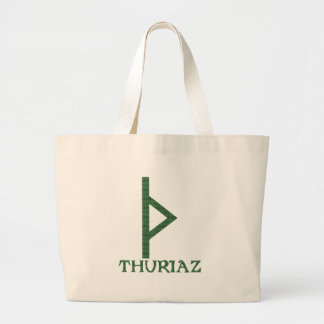 Thurisaz Tote Bags