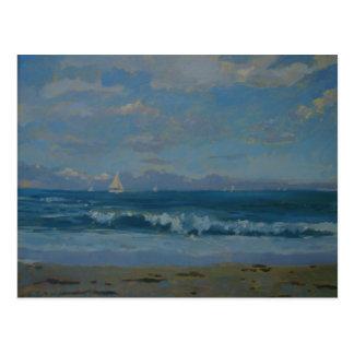 Thurlestone Beach Postcard