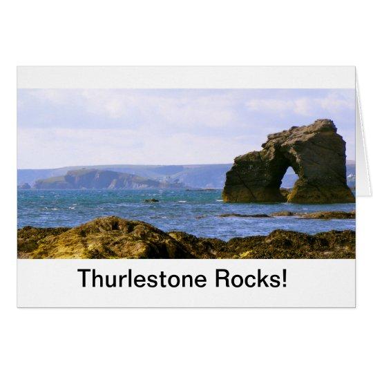 """Thurlestone Rocks!"" Devon Gift Card"