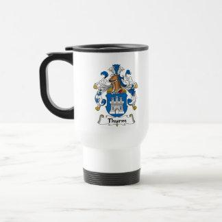 Thurm Family Crest Coffee Mug