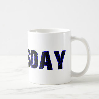 Thursday Day of the Week Merchandise Coffee Mug