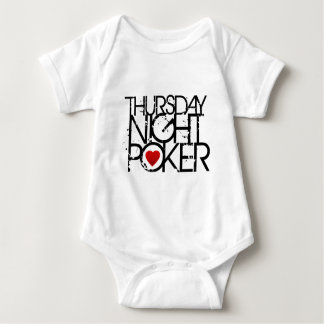 Thursday Night Poker Baby Bodysuit