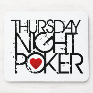 Thursday Night Poker Mouse Mat