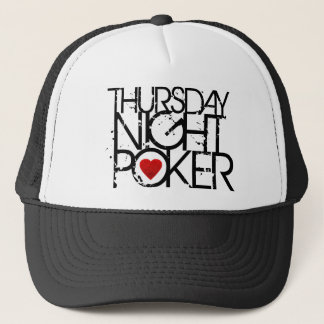 Thursday Night Poker Trucker Hat