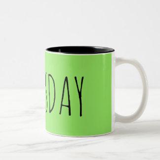 Thursday Two-Tone Coffee Mug