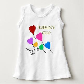 Thursday's Child Cute Heart Balloons Dress