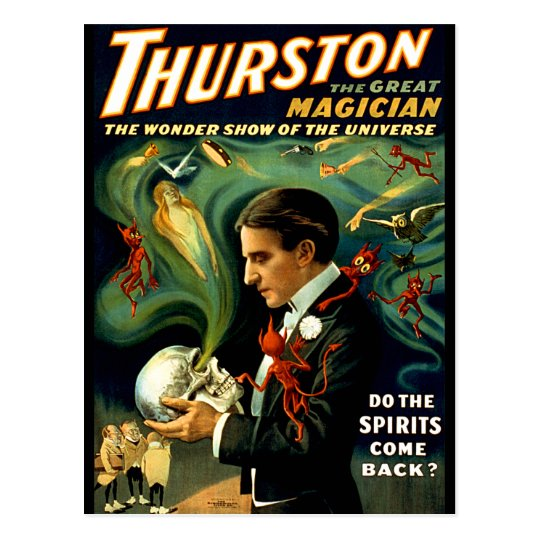 Thurston - Do the Spirits Come Back? Postcard