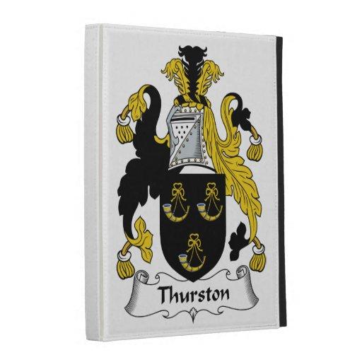 Thurston Family Crest iPad Folio Cases