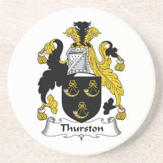 Thurston Family Crest Drink Coasters