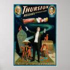 Thurston ~ Kellar's Successor Vintage Magic Act Poster