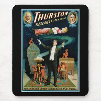 Thurston Kellers Successor vintage Magician Mousepads