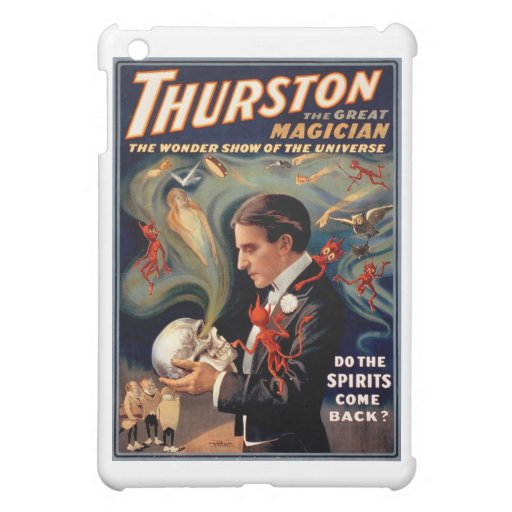 Thurston Magician Vintage Poster iPad Mini Cover