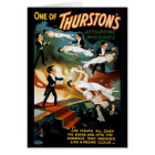 Thurston Magician Vintage Theatre Poster Card
