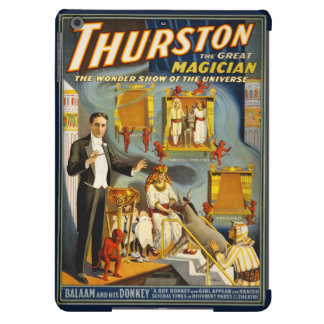 Thurston the great magician 1914 Vintage Poster Case For iPad Air