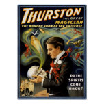 Thurston the great magician 1915 Vintage Poster