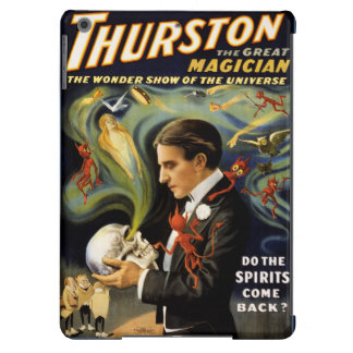 Thurston the great magician 1915 Vintage Poster iPad Air Case
