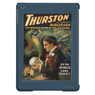 Thurston the Great Magician Holding Skull Magic iPad Air Cover