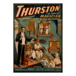 Thurston the great magician poster