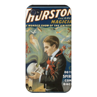 Thurston The Great Magician ~ Vintage Magic Act iPhone 4 Case