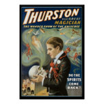 Thurston The Great Magician ~ Vintage Magic Act Poster