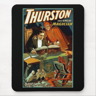 Thurston The Great Magician - Vintage Mouse Pad