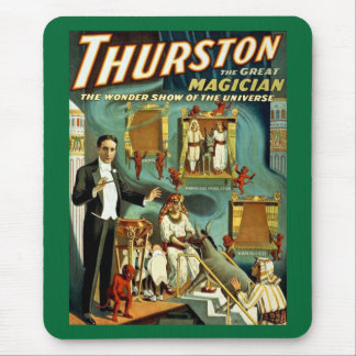 Thurston the Magician - The Wonder Show Mouse Mat
