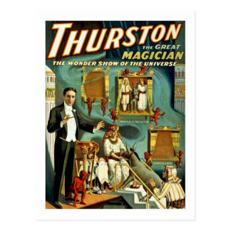Thurston the Magician - The Wonder Show Postcards