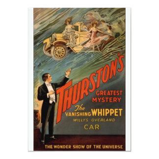 Thurston - The Vanishing Whippet 13 Cm X 18 Cm Invitation Card