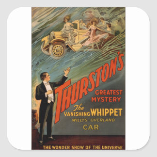 Thurston - The Vanishing Whippet Stickers