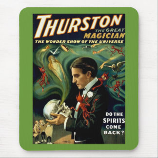 Thurston World's Famous Magician - Vintage Mouse Mat