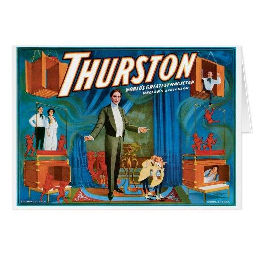 Thurston World's Greatest Magician ~ Vintage Act Card