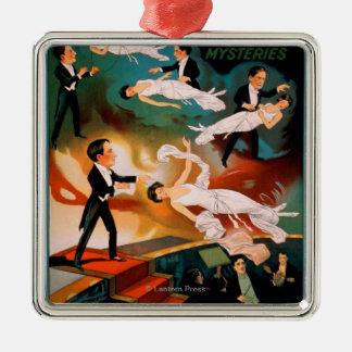 Thurston's Astounding Mysteries Magic Poster Christmas Ornament