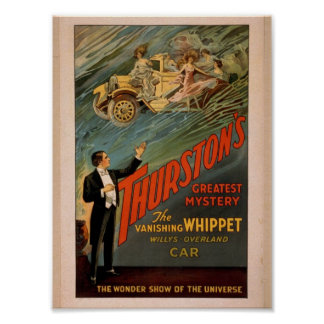 Thurston's, 'The Wonder Show of Universe', car Posters