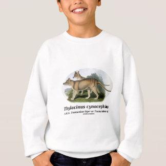 Thylacinus cynocephalus (Tasmanian tiger or wolf) Sweatshirt