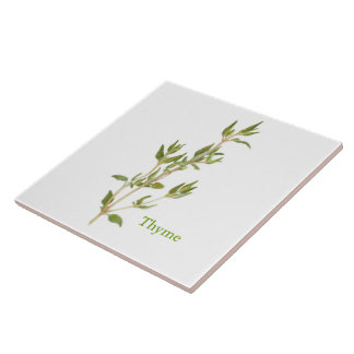 Thyme - Large Ceramic Tile