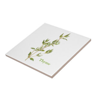 Thyme - Small Ceramic Tile