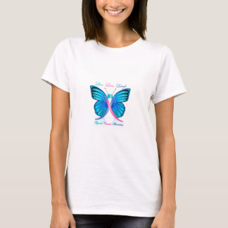 Thyroid Butterfly- Live Love Laugh T-Shirt