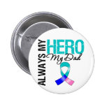 Thyroid Cancer ALWAYS MY HERO MY DAD Pins