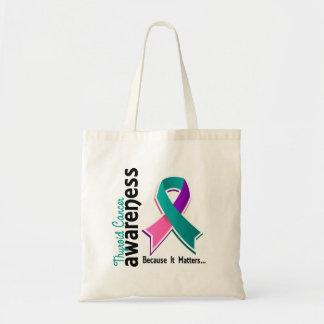 Thyroid Cancer Awareness 5 Tote Bag
