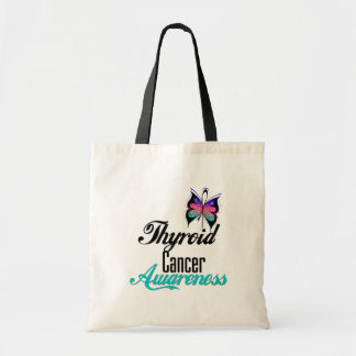 Thyroid Cancer Awareness Butterfly Bags