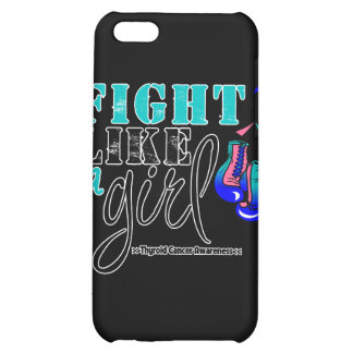 Thyroid Cancer Awareness Fight Like a Girl iPhone 5C Case
