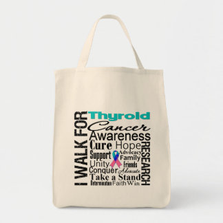 Thyroid Cancer Awareness Walk Canvas Bag