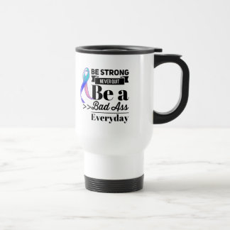 Thyroid Cancer Be Strong Travel Mug
